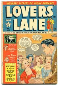 Lovers' Lane #2 1949- Golden Age Romance- George Tuska VG/F