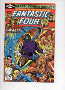 FANTASTIC FOUR #215, VF+, Blastaar, Sinnott, 1961 1980, Marvel, more FF in store