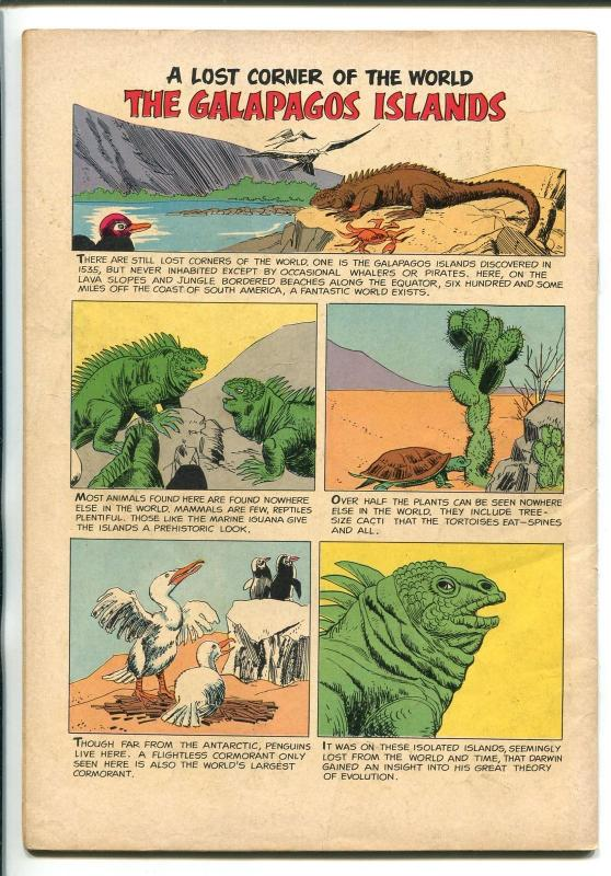 THE LOST WORLD #1145  1960-DELL-MICHAEL RENNIE-JULES VERNE-MOVIE-CONAN DOYLE-vg