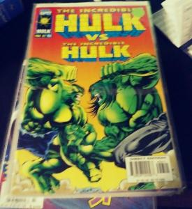 Incredible Hulk  # 453  (mAY  1997 , Marvel) HULK  VS HULK  +HULK ISLAND PT 3