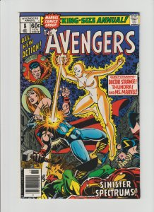 The Avengers Annual #8 (1978) NM- 9.2 Thundra, Ms. Marvel, Dr. Strange