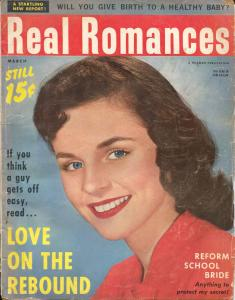 Real Romance 3/1960-Hillman-reform school bride-pulp exploitation-G-