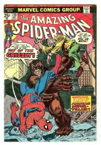 Amazing Spiderman 139   1st Grizzly