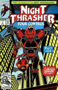 Night Thrasher: Four Control #1, NM- (Stock photo)