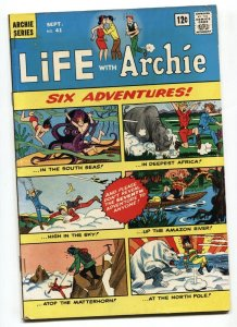 Life With Archie #41 First US appearance of GODZILLA in comics