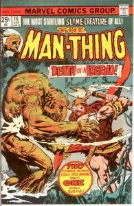 MAN THING (1974) 16 VF-NM April 1975 COMICS BOOK