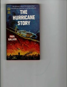 3 Books The Hurricane Story Flying American Combat I Was Hitler's Doctor JK14