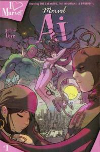 I heart Marvel: Ai #1, NM- (Stock photo)
