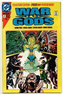 War Of The Gods #2 (DC, 1991) FN/VF
