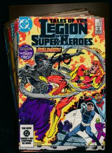 DC LOT OF 12-LEGION OF SUPER-HEROES#315-319,321-322,288-289,324,325,327 (PF367)