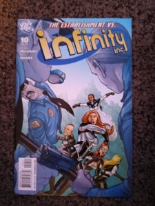Infinity Inc. #10 (2008)