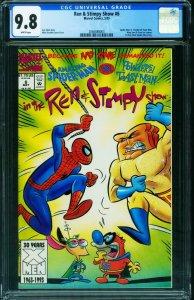 Ren and Stimpy Show #6 CGC 9.8 Spider-man 2066888003