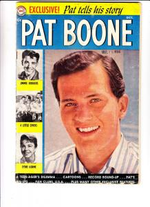Pat Boone #1 (Oct-59) GD Affordable-Grade Pat Boone
