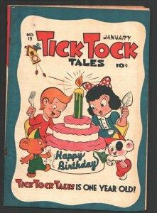 Tick Tock Tales #13 1947-ME-Koko & Kola-Pixies & Chuck Chipmunk-Tom Tom  Jung...