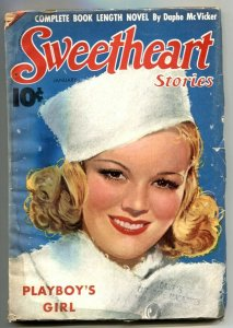Sweetheart Stories Pulp January 1939- PLAYBOY'S GIRL