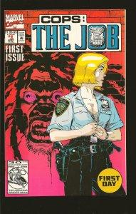 Marvel Comics Cops: The Job #1 (1992)