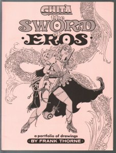 GhitaThe Sword of Eros 1985-Frank Thorne-Signed-#1056/1500-NM