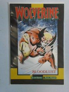 Wolverine Bloodlust #1 6.0 FN (1990)