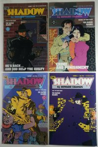 The Shadow By Howard Chaykin 1986 Complete Full Run 1,2,3,4 DC Comics High Grade