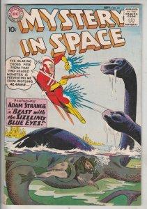 Mystery in Space #62 (Sep-60) FN/VF Mid-High-Grade Adam Strange