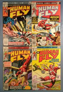 Human Fly Lot #5 #8 #9 #12 Marvel 1978