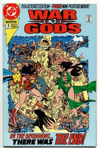 War Of The Gods #4 (DC, 1991) FN/VF