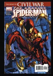 Amazing Spider-Man #529 NM 9.4 1st Iron Spider! Marvel Comics Spiderman