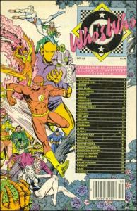 DC WHO'S WHO: THE DIFINITIVE DIRECTORY OF THE DC UNIVERSE #8 VF