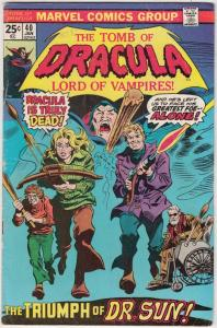 Tomb of Dracula #40 (Jan-76) FN Mid-Grade Dracula