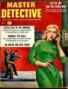 Master Detective 10/1958-MacFadden-Rudi Nappi cover-30¢ cover price-FR