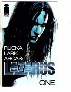 Lot Of 5 Lazarus Image Comic Books # 1 2 3 4 + Sourcebook 1st Prints Rucka J237