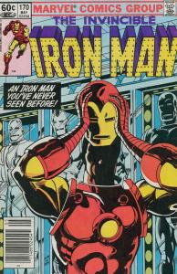 Iron Man (1st Series) #170 (Newsstand) FN; Marvel   save on shipping - details i