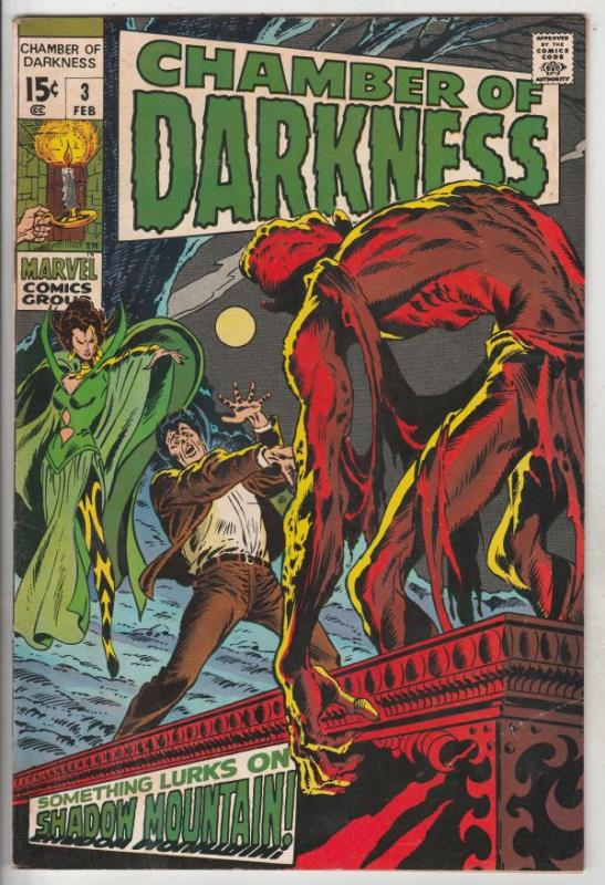 Chamber of Darkness #3 (Feb-69) FN/VF Mid-High-Grade