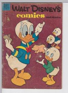 Walt Disney Comics and Stories 174 - Mar 1955 GD- Dell