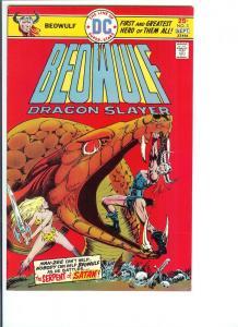 Beowulf Dragon Slayer #3 - Aug/Sept., 1975 (VF)