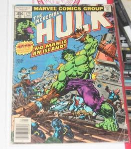 Incredible Hulk comic # 219 (Jan 1978, Marvel)bruce banner avenger pirates