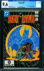 BATMAN #358 CGC 9.6-1983- Killer Croc cover- DC Comic Book 0295749001