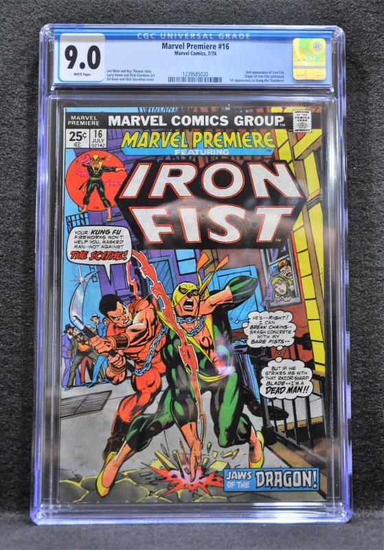 Marvel Premiere #16 (Marvel, 1974) CGC 9.0