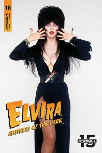 Elvira Mistress Of The Dark #10 Cvr D Photo Variant (Dynamite, 2019) NM