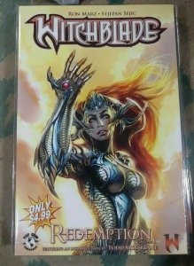 witchblade  TPB #  vol 1 redemption  top cow image  ron marz