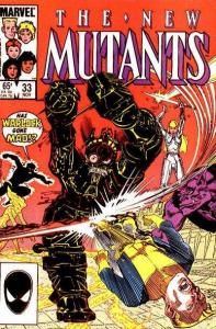 New Mutants (1983 series) #33, NM- (Stock photo)
