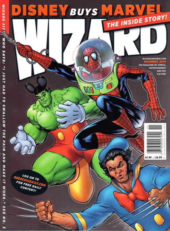 Wizard: The Comics Magazine #217C VF/NM; Wizard | combined shipping available -