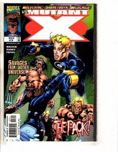 Lot Of 7 Mutant X Marvel Comic Books # 3 4 5 6 9 11 14 X-Men Wolverine J258