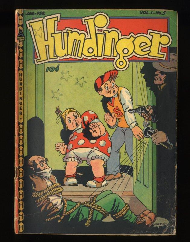 Humdinger #5 VG 4.0