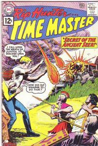 Rip Hunter Time Master #6 (Feb-62) VG- Affordable-Grade Rip Hunter, Jeff, Bonnie