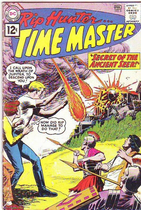 Rip Hunter Time Master #6 (Feb-62) VG- Affordable-Grade Rip Hunter, Jeff, Bonnie