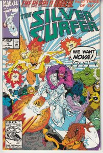 Silver Surfer(vol. 2) # 72  The Herald Quest !