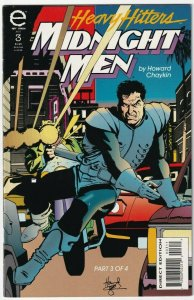Heavy Hitters Midnight Men #3 August 1993 Epic Comics