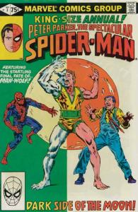 Spectacular Spider-Man, The Annual #3 FN; Marvel | save on shipping - details in