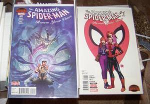 amazing Spider-man # 1, 2  renew your vows secret wars battle slott kubert